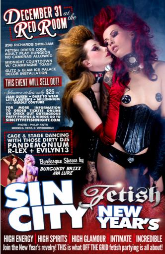 Sin City FETISH NEW YEAR'S