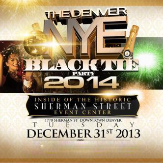 Denver NYE Black Tie Party
