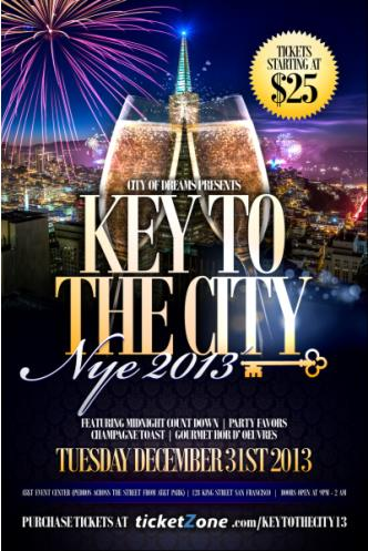 Key To The City NYE