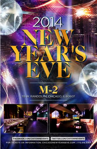 NEW YEAR'S EVE AT M-2
