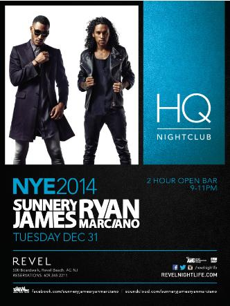 NYE 2014 with Sunnery James & Ryan Marciano