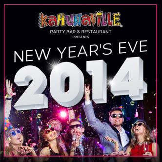 NYE at Kahunaville