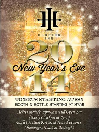 Hubbard Inn NYE 2014