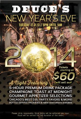 Deuce's New Year's Eve 2014