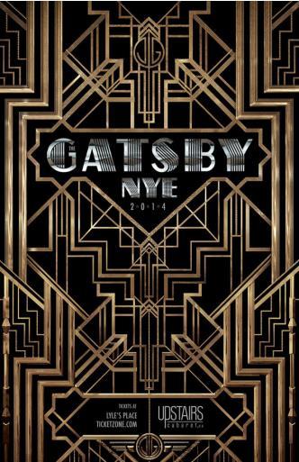 THE GATSBY ~ NYE 2014