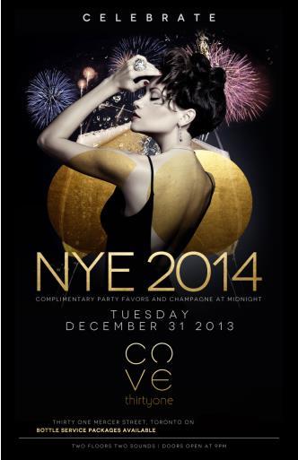 CELEBRATE NEW YEARS EVE 2014