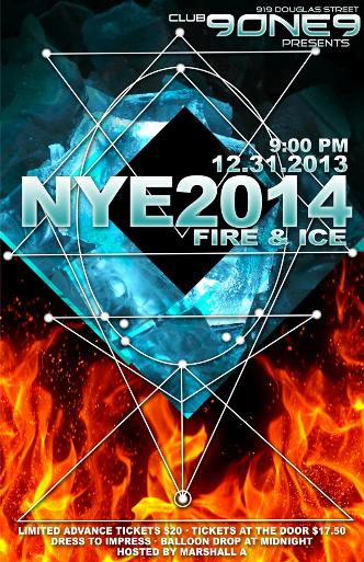 NEW YEARS EVE 2014: FIRE & ICE