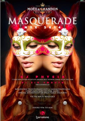 Masquerade NYE 2014