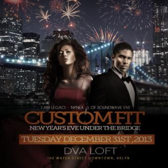 Custom Fit New Years Eve Party