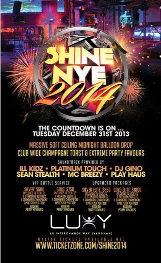 Shine NYE 2014