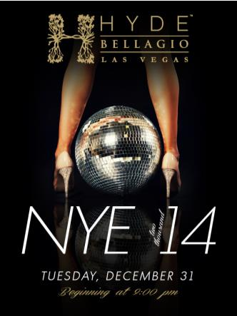 New Year's Eve 2014 at Hyde Be