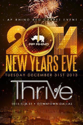 AP-RHINO'S NYE 2014 @ THRIVE