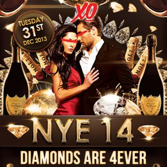 NYE 2014 - Diamonds are 4ever