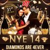 NYE 2014 - Diamonds are 4ever at Club XO