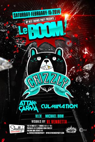 LeBOOM Featuring : CRIZZLY !!!: Main Image
