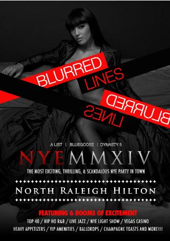 Blurred Lines: NYE 2014