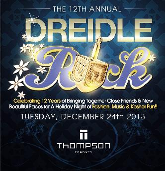 DREIDLE ROCK at Thompson Hotel
