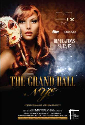 THE GRAND BALL - NYE 2014