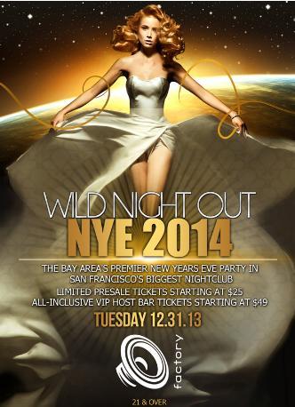 WILD NIGHT OUT NYE 2014