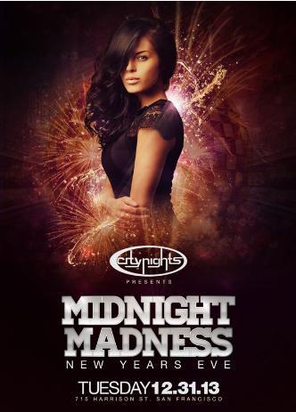 MIDNIGHT MADNESS - NYE 2014