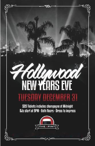 New Year's Eve at The Pint