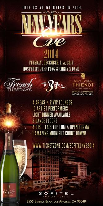 NYE at Sofitel Luxury Hotel