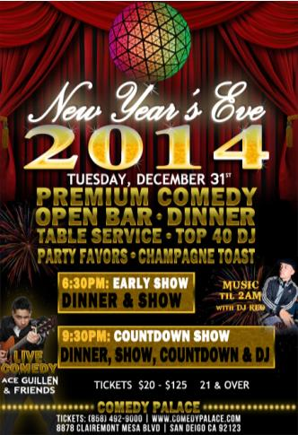 New Year's Eve (Early Show)