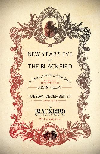 NYE at The Blackbird