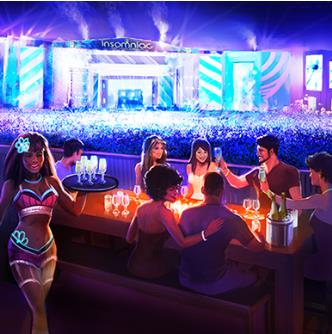 kinetic FIELD VIP Dining Deck: Main Image