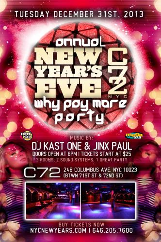 Columbus 72 New Years Eve
