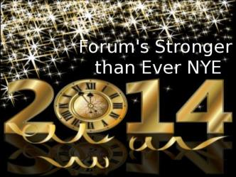 FORUM STRONGER THAN EVER NYE