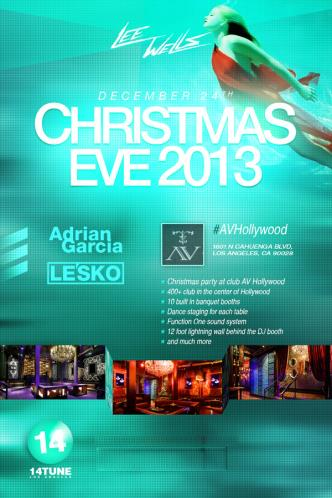 Christmas Eve Bash Dec 24 @ AV
