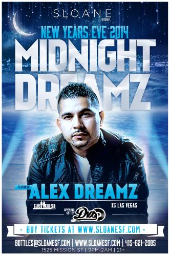 Midnight Dreamz NYE 2014