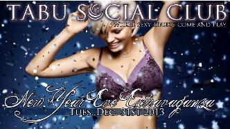 New Years Eve at Tabu Social C