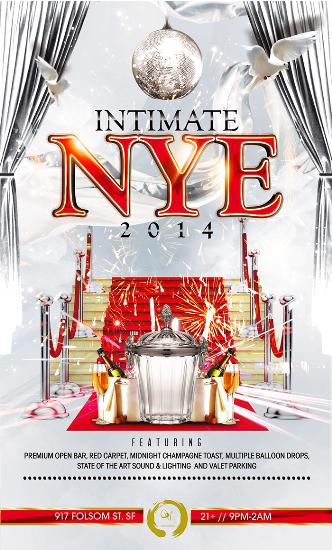 Intimate NYE 2014 at Qi Lounge