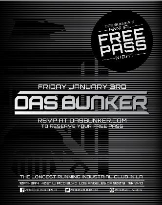 Once a Year Free Pass - RSVP: Main Image