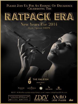 The Ratpack Era NYE 2014