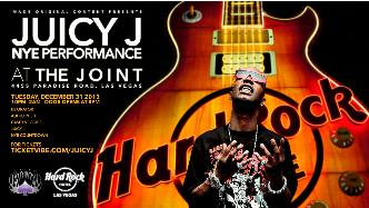 Juicy J NYE LIVE @ the Joint