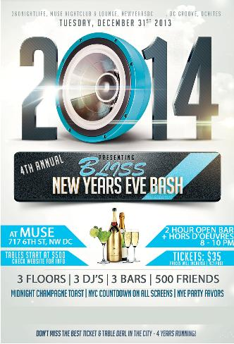 New Years Eve 2014 at Muse