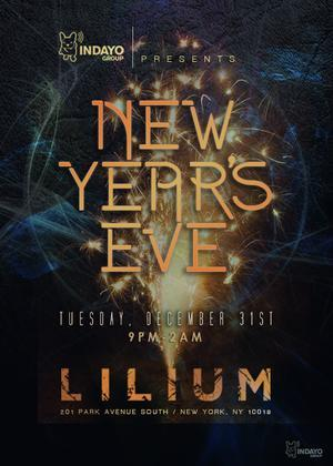 NYE in the W Hotel in Lilium