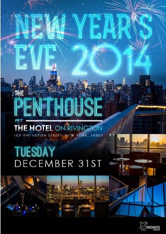 NYE at Hotel on Rivington