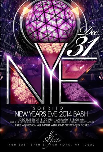 New Year's Eve Bash @ Sofrito