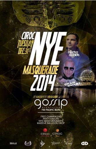 CIROC NYE Masquerade 2014