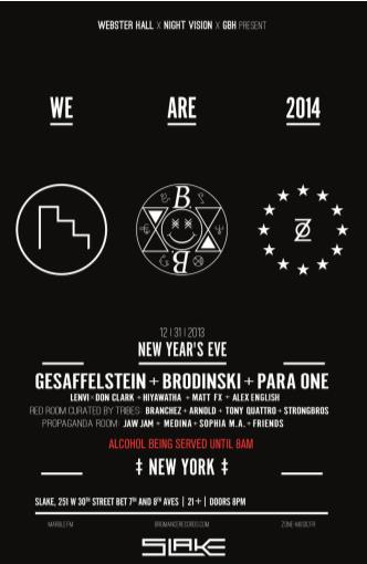 NEW YEARS EVE - We Are 2014