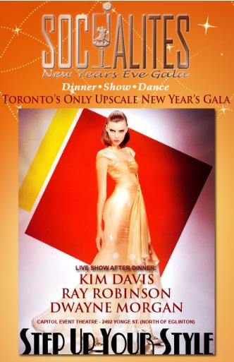 SOCIALITES NEW YEARS EVE GALA