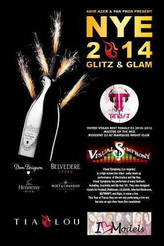 Glitz & Glam NYE 2014 @Tia Lou
