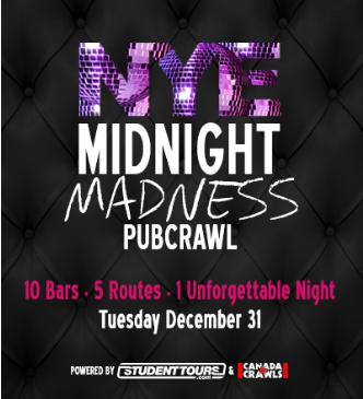 NYE Midnight Madness Crawl
