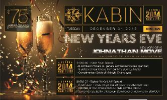 Kabin New Years Eve 2014