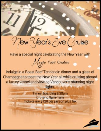 New Year's Eve Cruise