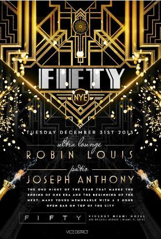 FIFTY at Viceroy - NYE 2014